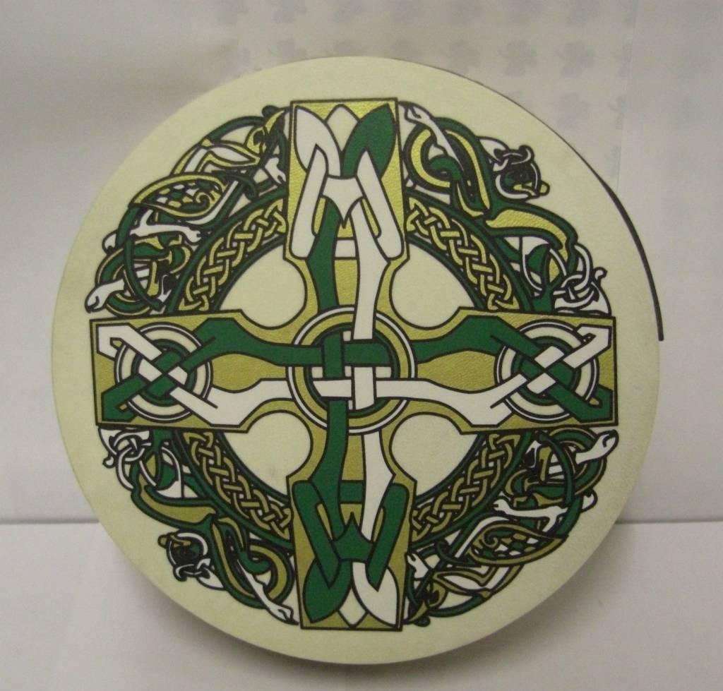 "Walton's Music Bodhran: 8"" Celtic Cross"