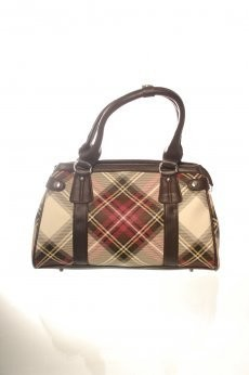 Bag: Small Tartan Vinyl Stewart Dress