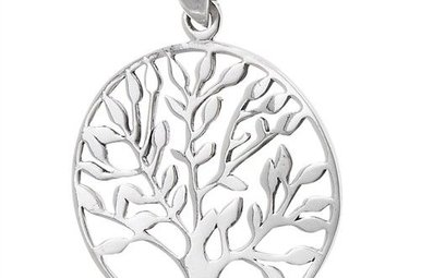 Necklace: SS Tree of Life 9307