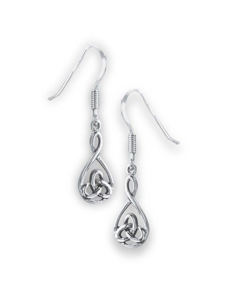 Earring: SS Celtic Small Triquetra WE9638