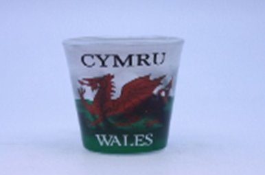 Shot Glass: Welsh Dragon