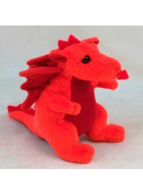 Toy: Welsh Beany Dragon, 4 in