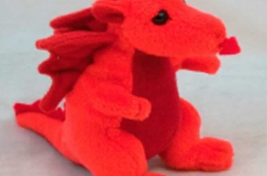 Toy: Welsh Beany Dragon, 4""