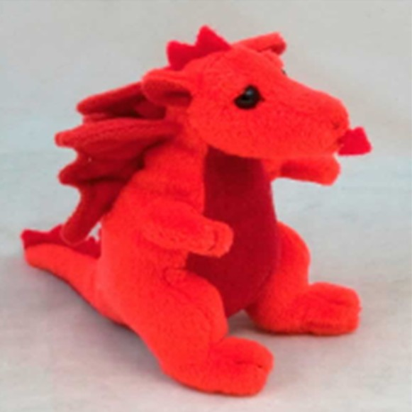 """Pendragon Toy: Welsh Beany Dragon, 4"""""""
