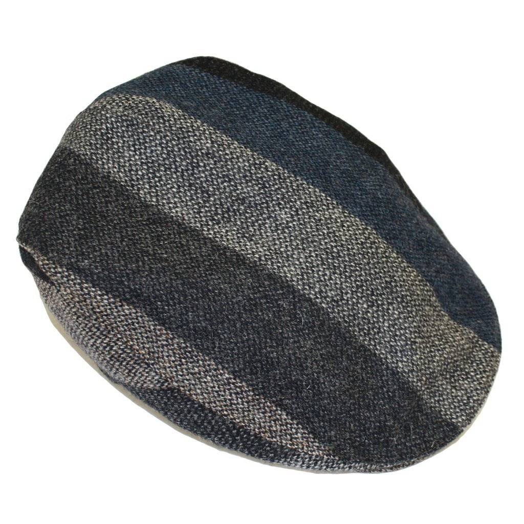 Hat: Touring Cap, Grey Stripe