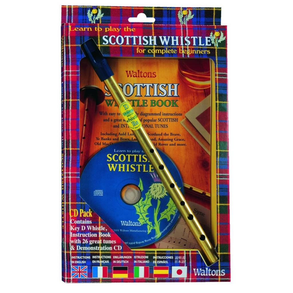 Whistle: Scottish Tin w/CD