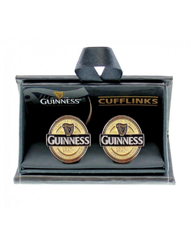 Cufflinks: Guinness Label