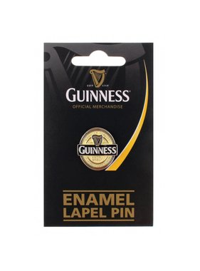 Pin: Lapel, Guinness Label