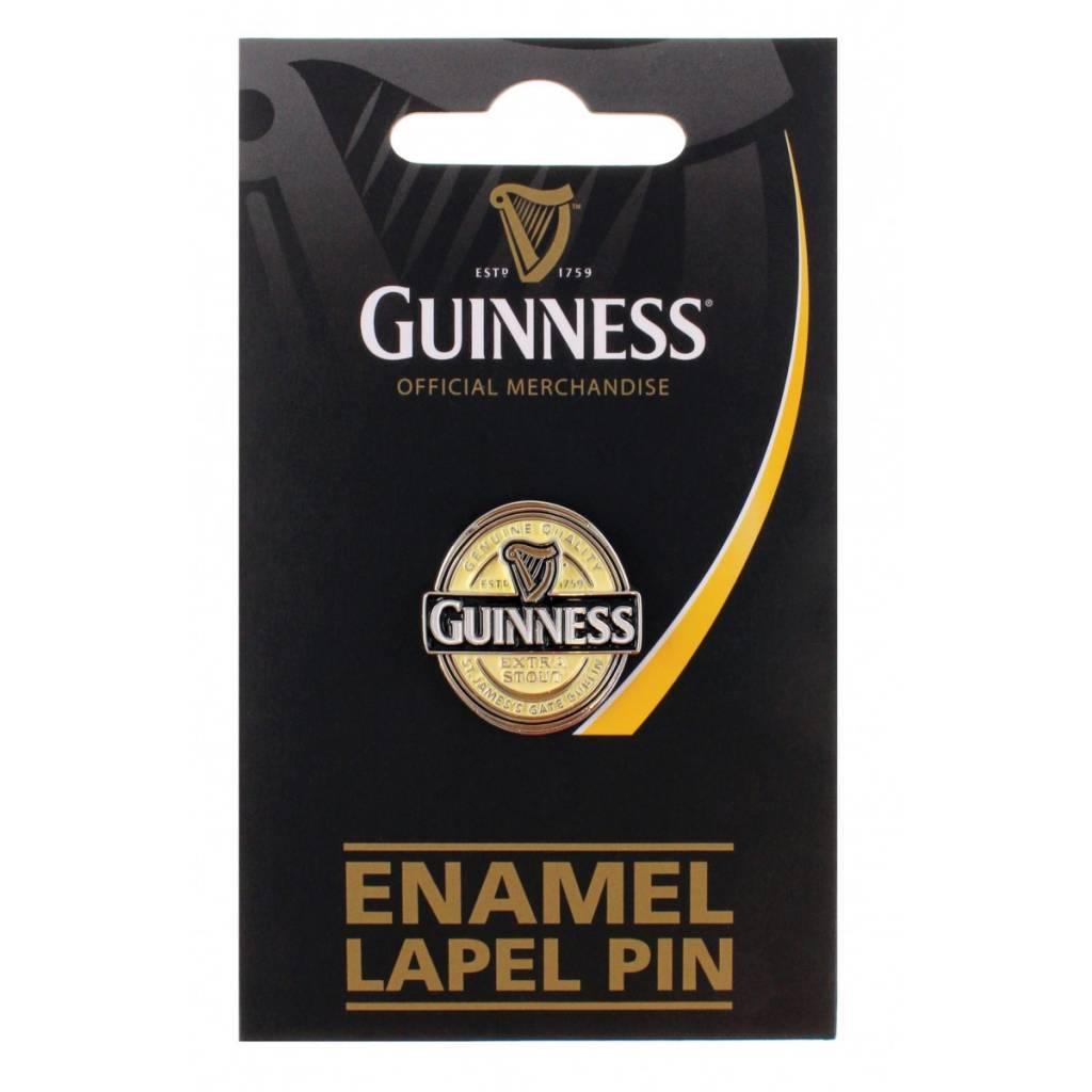 Pin: Lapel, Guinness Label