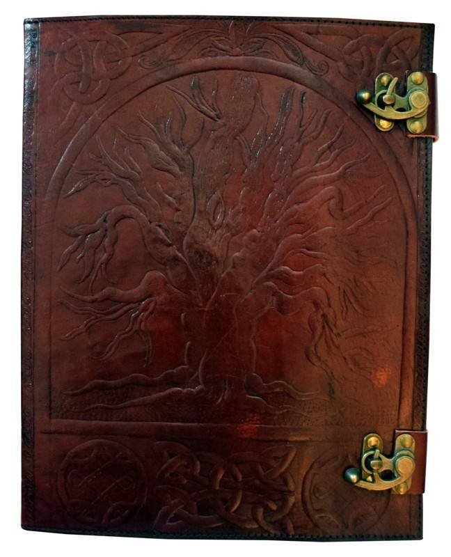 Journal: Tree of Life Leather 10X13