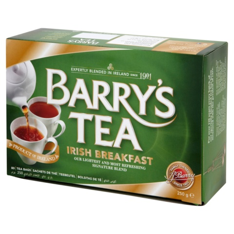 Tea: Barrys Irish Breakfast, 40 ct