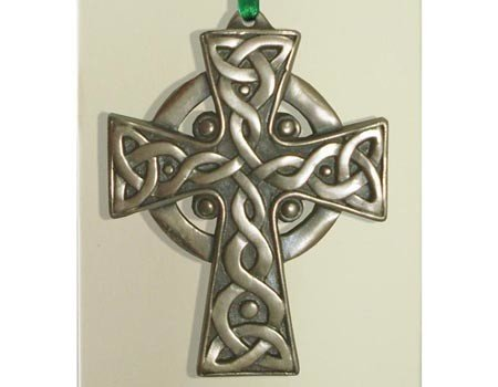 Clara Ornament: High Cross Bronze