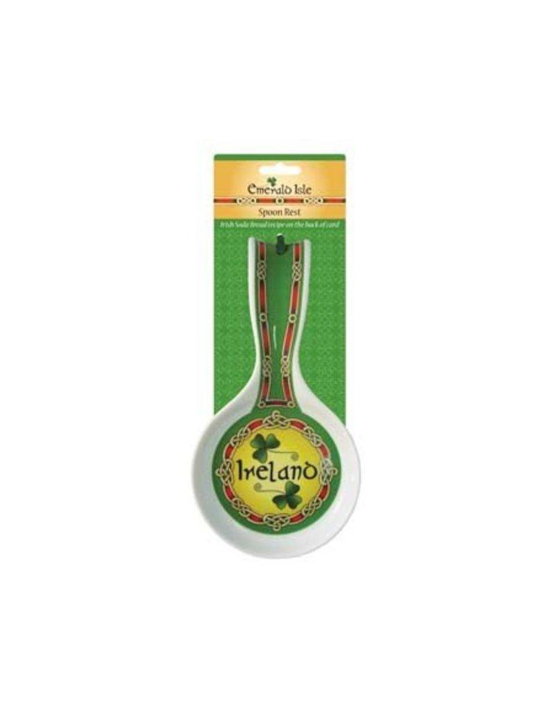 Spoon Rest: Emerald Isle