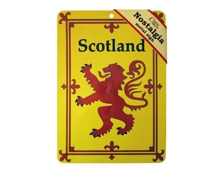 Sign: Lion Rampant Nostalgia
