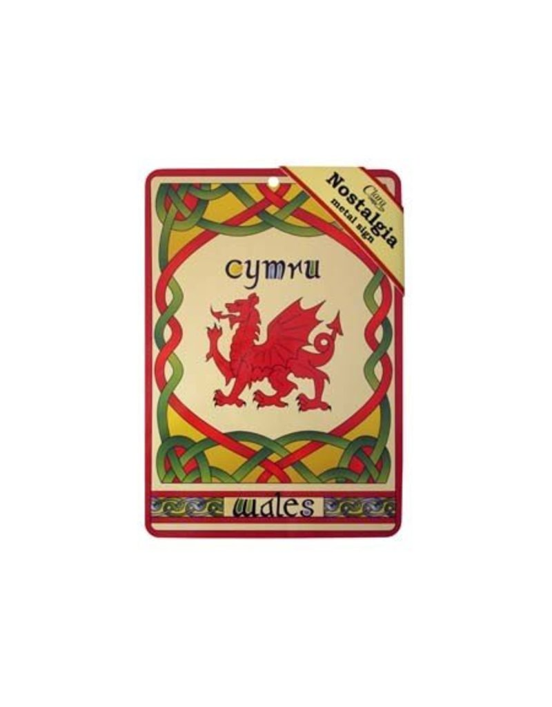 Sign: Welsh Dragon Nostalgia
