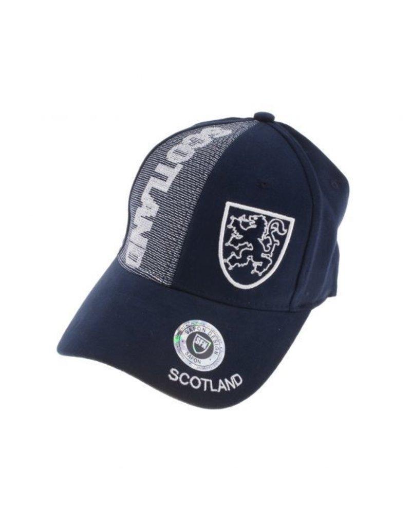 Hat: Baseball, Navy, Zig-Zag