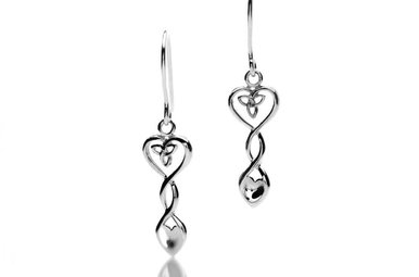Earrings: Silver Welsh Spoon