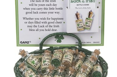 Charm: Luck of the Irish Bottle