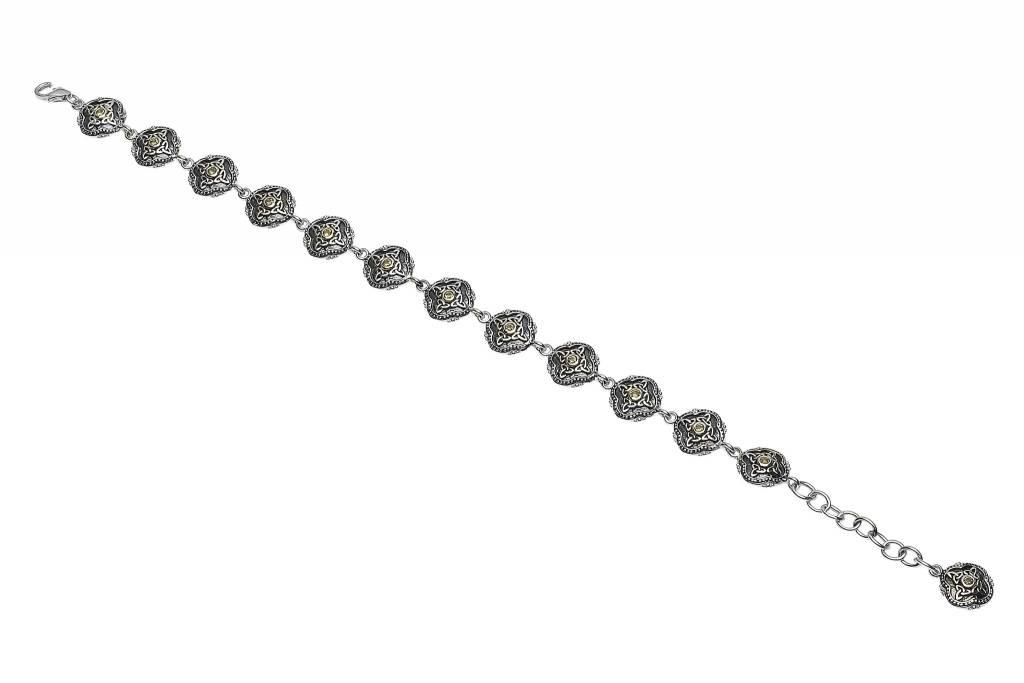 Bracelet: SS Peridot Celtic