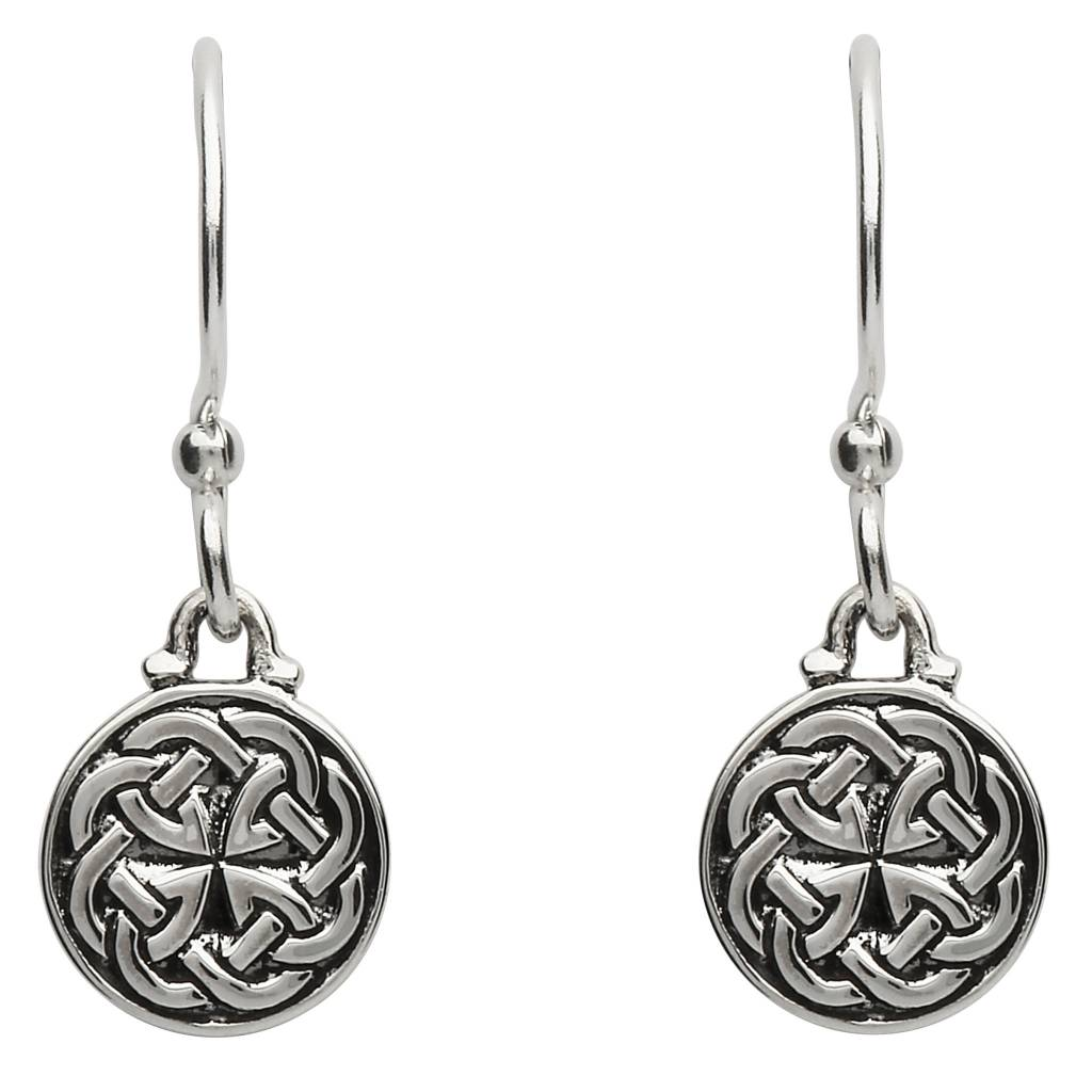 Earrings: Celtic Love Knot Drop