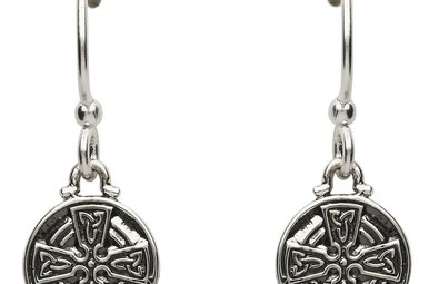 Earrings: SS Celtic Cross Drop