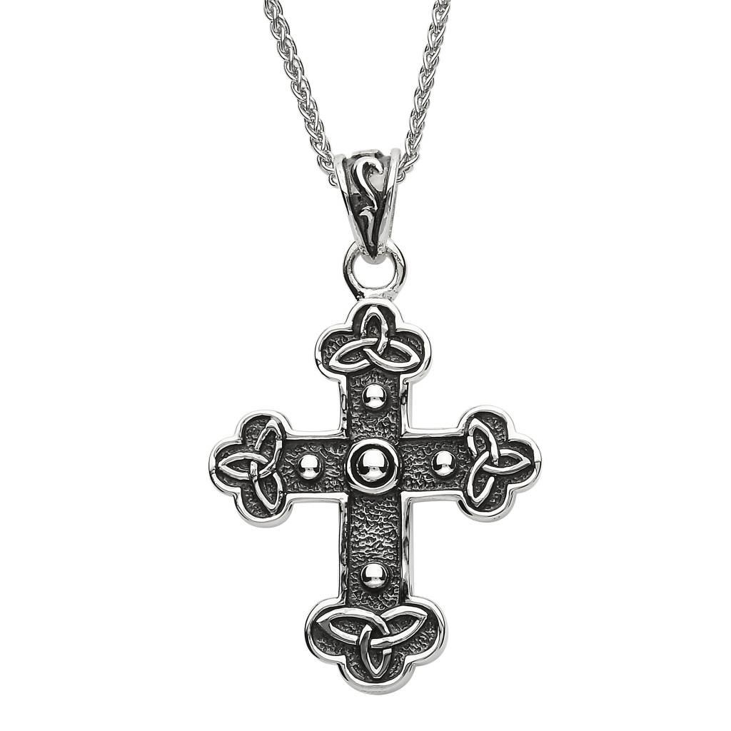Pendant: SS Celtic Cross on Spiga
