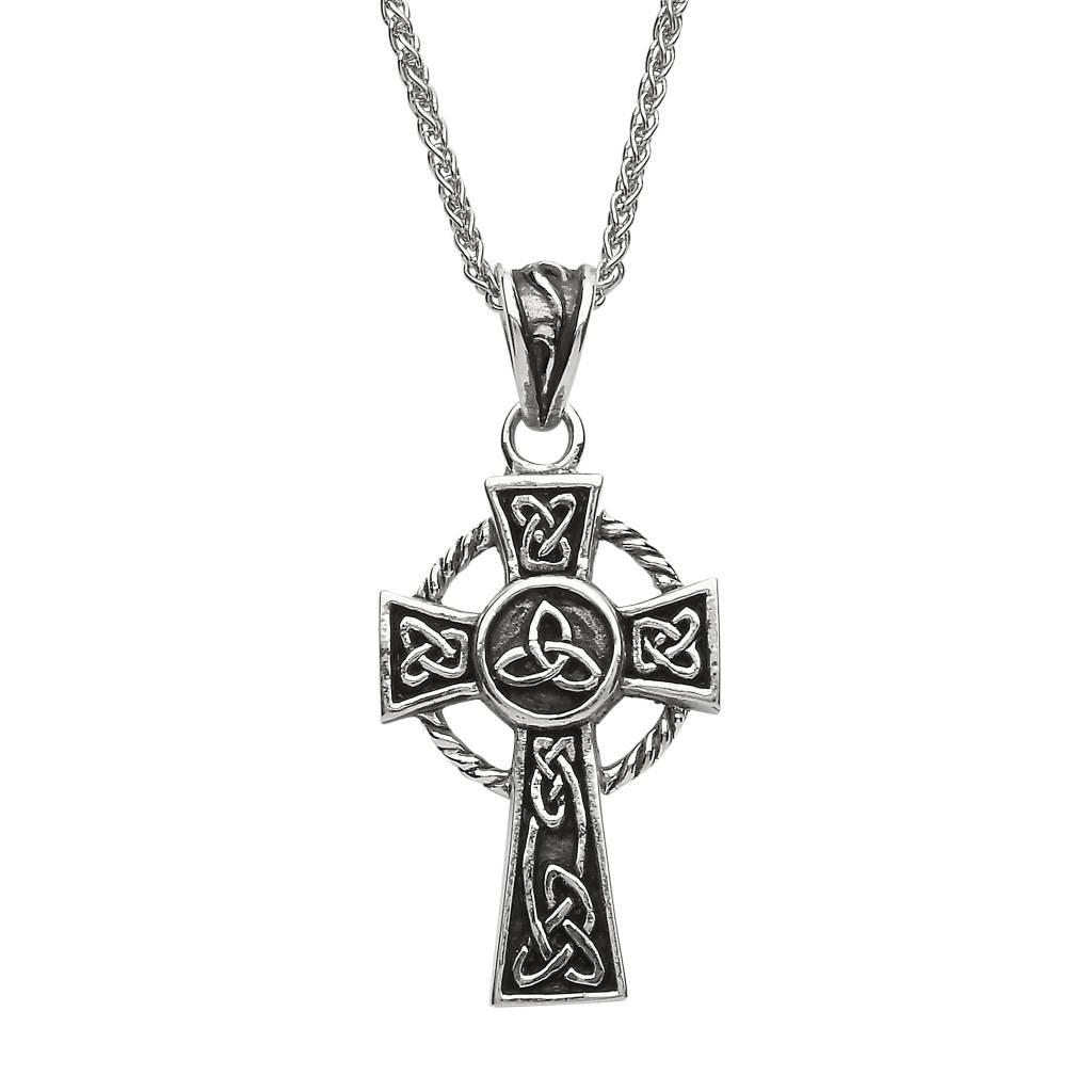 Pendent: SS Celtic Cross on Spiga