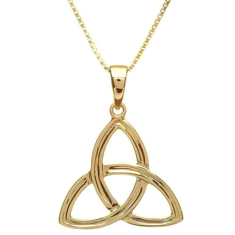 Pendent: 10K Gold Trinity