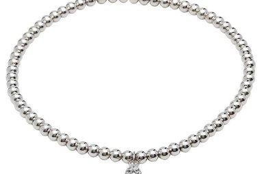 Bracelet: SS Swarovski Trinity Charm