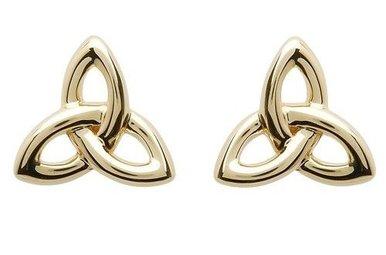 Earring: 10K Gold Trinity
