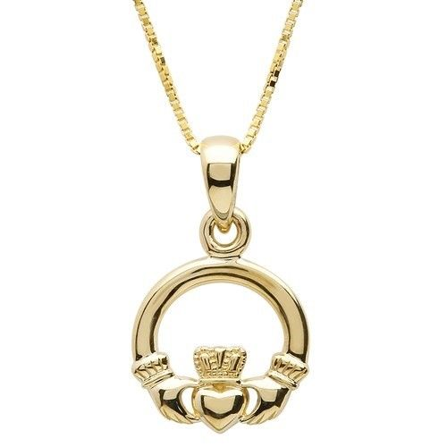 Pendent: 10k Gold Claddagh
