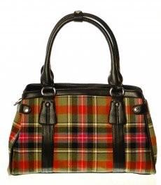 Bag: Ladies 12oz Wool Handbag Bruce of Kinnard