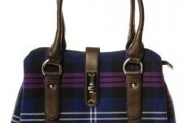 Bag: Ladies 12oz Wool Heritage of Scotland Clasp