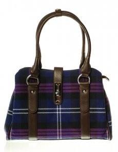 Bag: Ladies 12oz Wool Heritage of Scotland Clasp