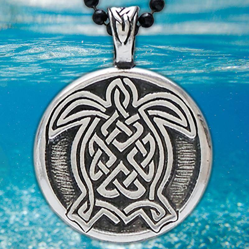 Pendant: Turtle Pewter