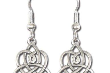 Earrings: Brigid's Heart
