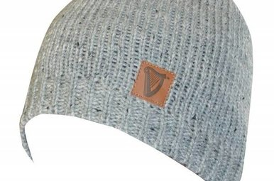 Hat: Guinness Dot-Yarn Beanie, Fitted