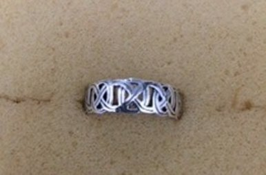 Ring: Interwoven Celtic Knots, SS