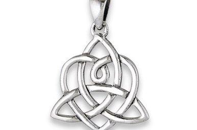 Necklace: SS Bridget's Heart/Triquetra