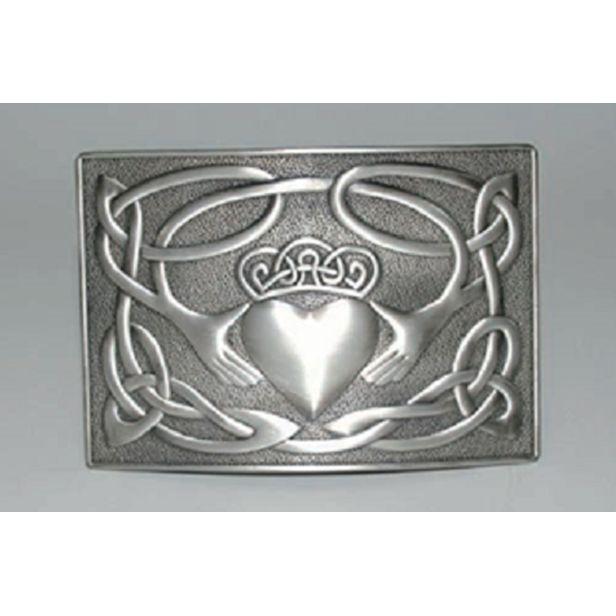 Buckle: Claddagh Waist Plate