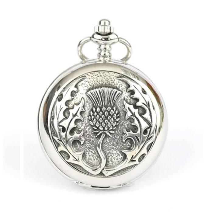 Glen Esk Pocket Watch: Thistle