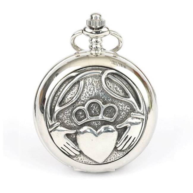 Glen Esk Pocket Watch: Claddagh