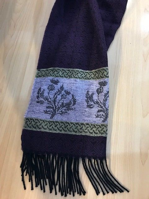 Scarf: Thistle Purple