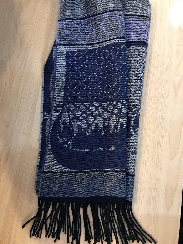 Scarf: Viking Vanern (Blue)
