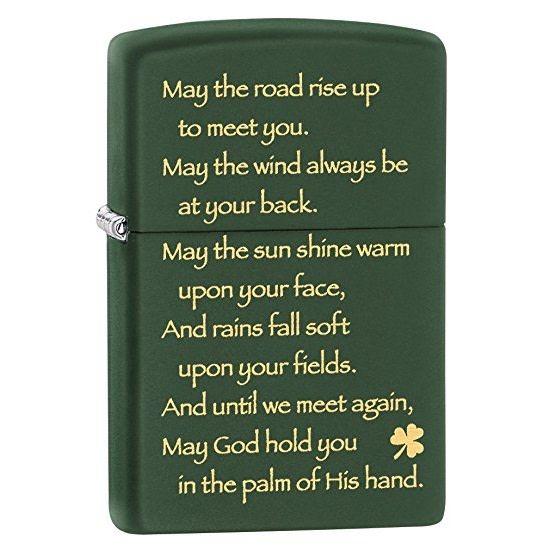 Lighter: Zippo Irish Blessing