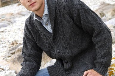Sweater: Shawl Collar