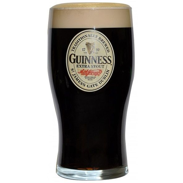 Glass: Guinness Pint, Logo