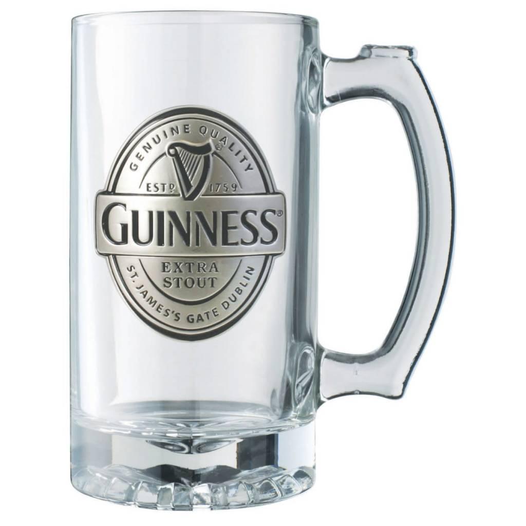 Guinness Glass: Guinness Logo Tankard, Pewter
