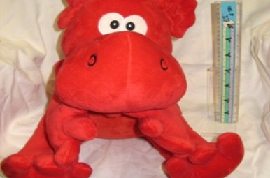 Toy: Welsh Dragon, 2-Tone Red