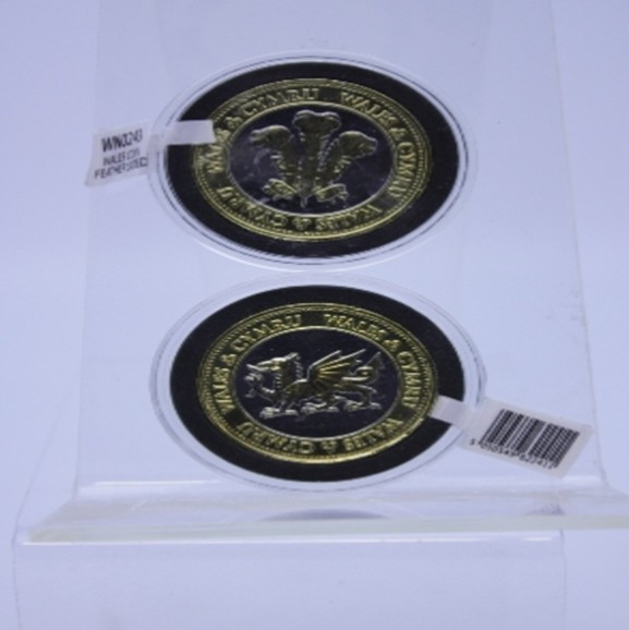 Collectors Coin: Welsh Cymru